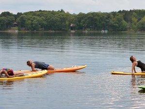 8 días retiro de surf de remo, yoga Aéreo y de playa en Wisconsin, Estados Unidos
