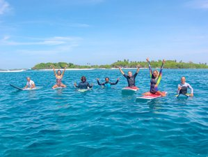 8 Day Memorable Surf Experience with Daily Boat Trips in Himmafushi