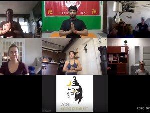 Online & Self-Paced 100 Hour Hatha, Ashtanga-Vinyasa & Indian Ayurvedic Yoga Program For Beginner