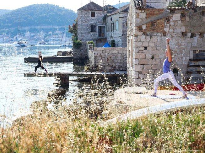 8 Days SUP Yoga Retreat in Vis Island, Croatia