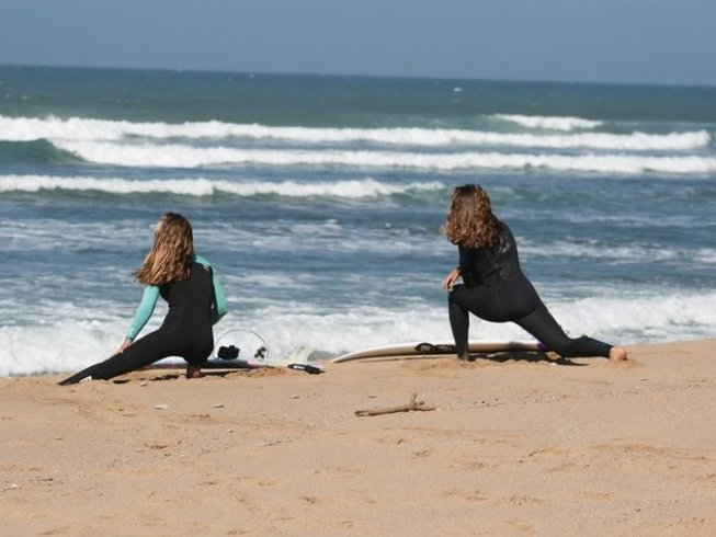 8 Days All-Inclusive Yoga & Surf Retreat in Portugal