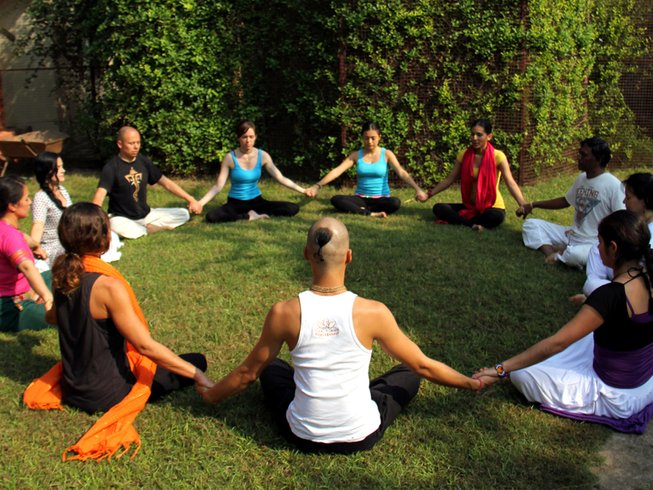 29 Days 200-Hour Yoga TTC in Vrindavan, India