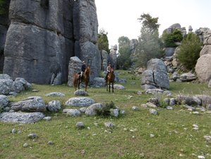 8 Days Mountain Horse Riding Trail in Turkey