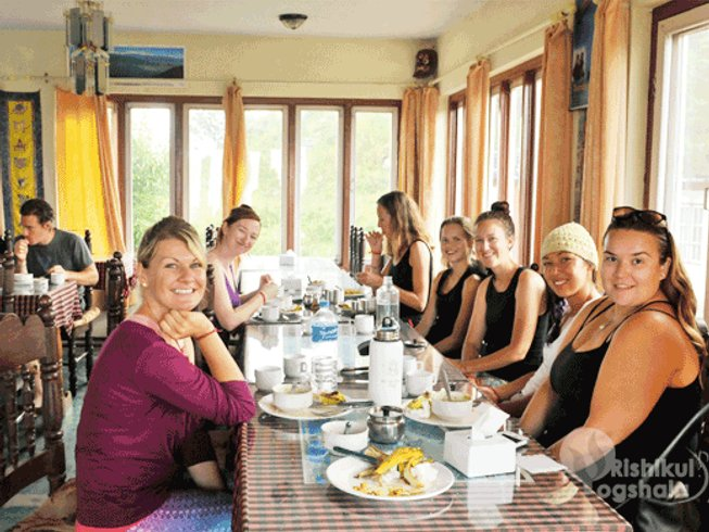 28 Days 200hr Yoga Teacher Training in Nepal