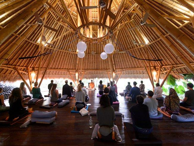 8-Daagse Meditatie en Yoga Retreat met Nieuwjaar in Bali, Indonesië