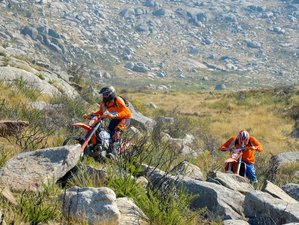 4 Days Guided Enduro Motorcycle Tour in Porto, in the Famous Tracks of Lagares