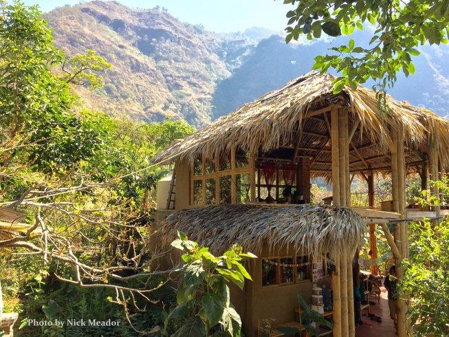 7 jours en stage de yoga pour élever le prana à Tzununa, Guatemala.