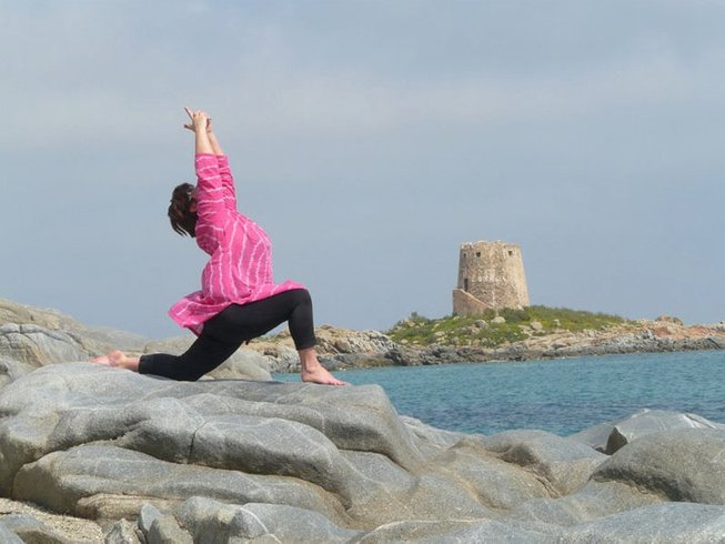 8 Days Solo Self Catering Yoga Retreat in Sardinia, Italy