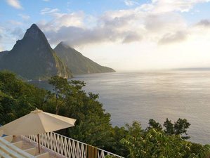 8 Tage Yoga & Soca Aerobik, *3 Tage Saftkur mit Kolon-Hydrotherapie Retreat in St. Lucia