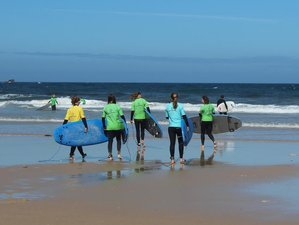 4 Days Yoga and Surf Holiday in Praia da Vigia, Torres Vedras, Portugal