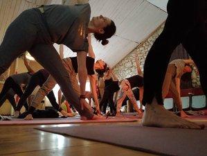 Week-end de yoga à la fête des mères dans les gorges du Verdon, France