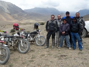 8 Day Muktinath Mustang High-Altitude Ride Guided Motorcycle Tour in Nepal
