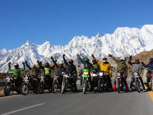 8 Day Khunjerab Special Guided Motorcycle Tour in Pakistan