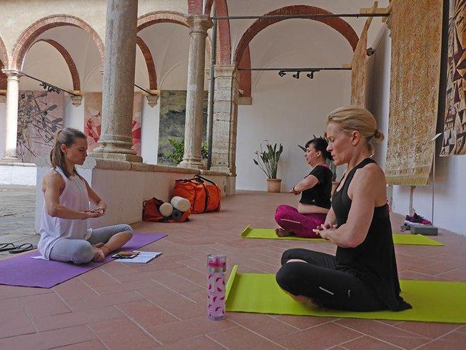 4 Tage Kultureller und Yoga Retreat in der Toskana, Italien