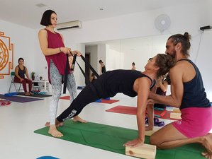 11 Day Iyengar Yoga Beach Holiday with Certified Iyengar teacher in Gokarna, Kudle Beach Top Hotel