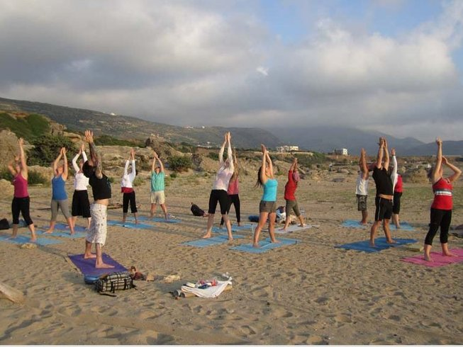 8 Days Meditation and Beach Yoga Retreat in Greece