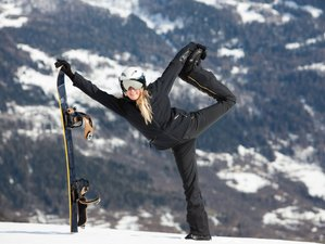 8 Days Deep House Ski Yoga Retreat in France