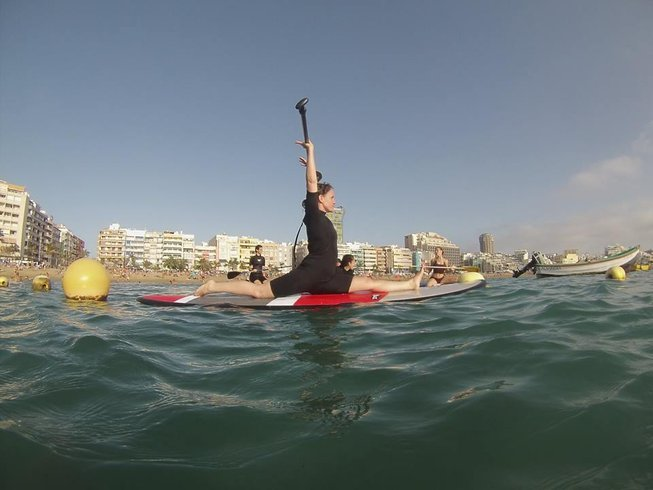 5 Days Aerial & Stand-Up Paddle Yoga Retreat in Spain