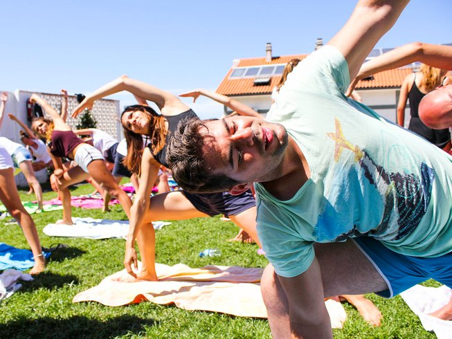6 Days Yoga and Surf Camp in Carballo, Galicia, Spain