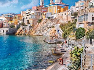 8 Day Discover the Historic Island of Syros and Yoga Adventure with Tracy Aleksic in Cyclades