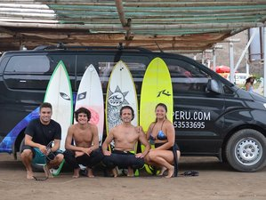 7 Day Full Surfing Camp in Barranca, Lima