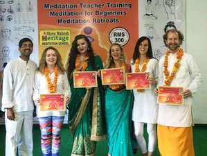 11 Days 100-Hour Meditation Training Certification Course in Rishikesh, India