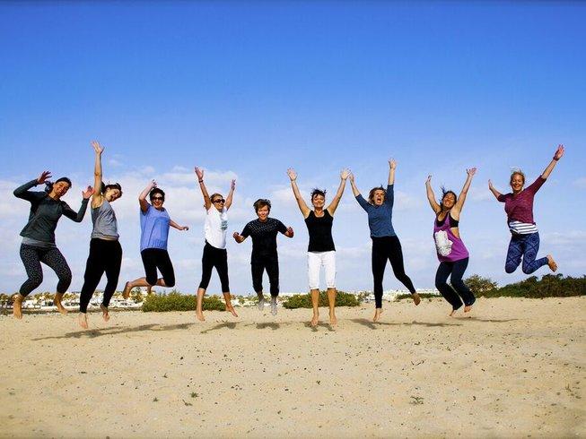 8 Tage Pilates, Surf und Yoga Urlaub auf Fuerteventura, Spanien