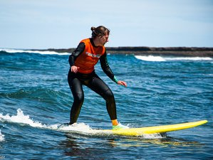 4 Day Beginner and Intermediate Intensive Surf Coaching in Ericeira, Lisboa