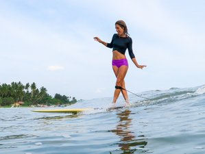 4 Day Affordable Stay and Exhilarating Surf Camp in Weligama, Southern Province