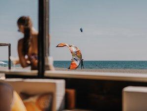 3 Tage Adrenalinjunkie Kitesurf Camp mit SUP oder Volleyball in Ulcinj