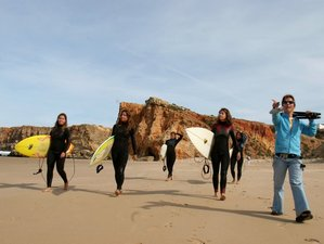 8 Tage Winter Yoga und Surfen in Portugal