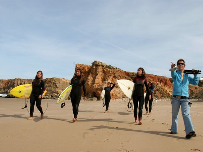 8 Days Winter Break Yoga and Surf in Portugal