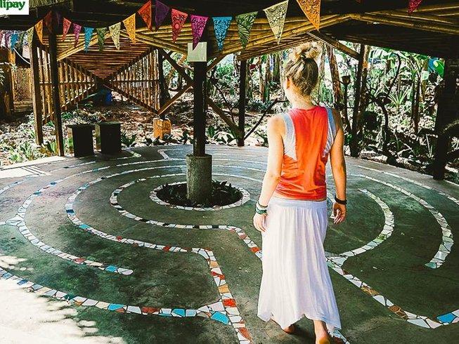 5 jours en stage de yoga et dans intérieure aux Philippines