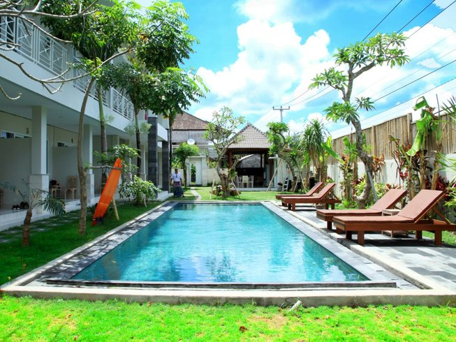 7 Days All Inclusive Surf Express and Yoga Camp Canggu, Bali