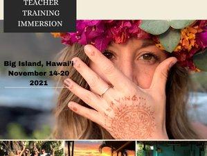 7 Day Healing Retreat and 50-Hour Yin Yoga Teacher Training Immersion in Big Island, Hawai'i