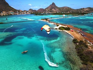15 Day Yoga and Kitesurfing While Cruising Saint Vincent and the Grenadines in the Caribbean