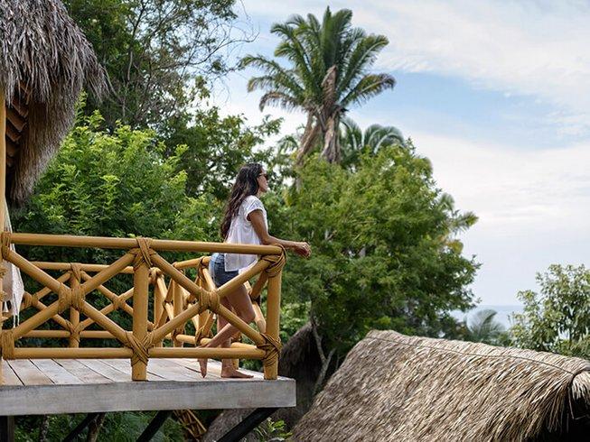 8-Daagse Single Yogini Strand Retraite in Mexico