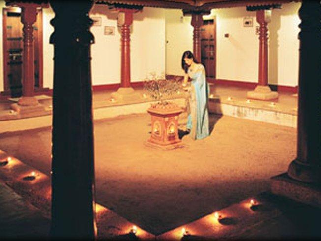 8-Daagse Kerala Ayurveda Meditatie en Yoga Retraite in Bangalore, India