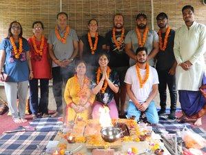 14 Day Yoga and Ayurveda Course in Rishikesh, India