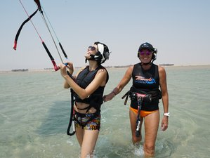 4 Day - Kite-Sleep-Eat-Repeat - Beginner Kite Boat Camp in Soma Bay
