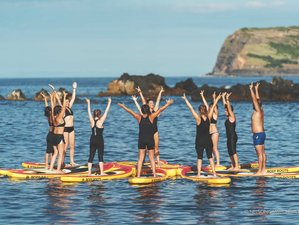 7 Days LiquidRoots™ SUP Yoga Adventure Holiday in Azores, Portugal