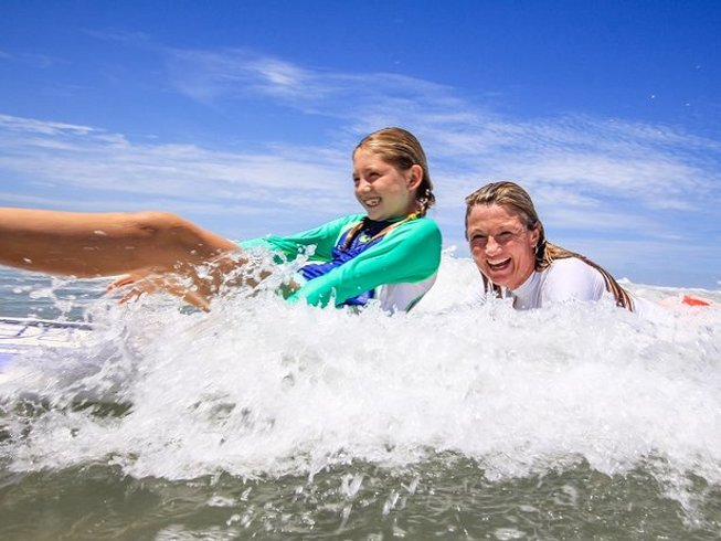8 Days Family Outing Surf and Yoga Retreat in Santa Teresa, Costa Rica