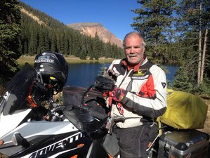 3 Day Montana Hot Springs to Hot Springs Guided Motorcycle Tour in the USA