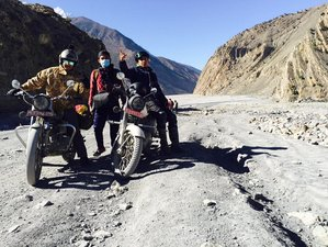 16 Day Upper Mustang Guided Motorcycle Road Trip in Nepal