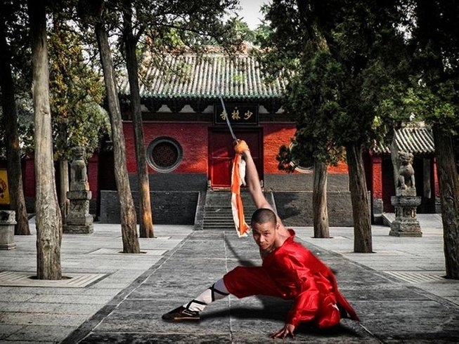 1 Month Traditional Kung Fu Training in Henan, China
