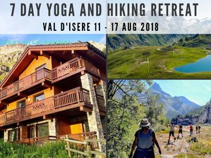 7 Days Hiking and Yoga Retreat in the Stunning French Alps Val-d'Isère, France