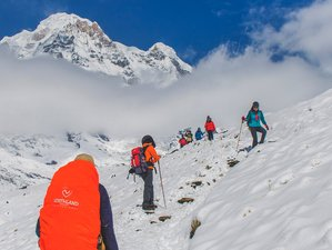 14 Day Annapurna Base Camp Yoga and Meditation Trek in the Himalayan Area of Nepal