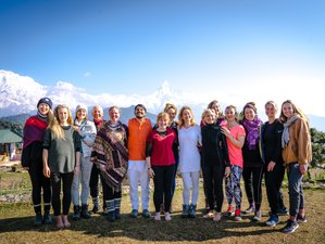 24 Days 200-Hour Himalayan Yoga Teacher Training in Nepal