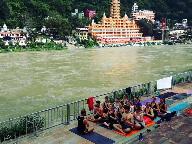 28 Days Vinyasa Yoga Teacher Training Course in Rishikesh, India