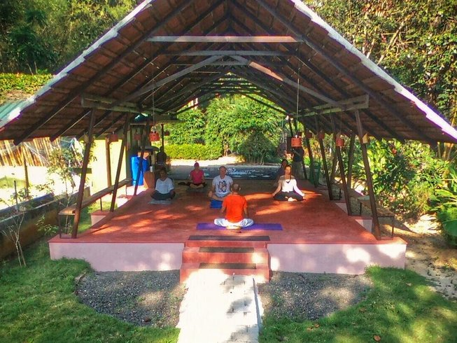 14 Days Detox and Weight Loss Yoga Retreat in Kerala, India
